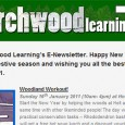 Welcome  to Birchwood Learning's E-Newsletter. Happy New Year! – I hope you had an  enjoyable festive season and wishing you all the best (and lots of time in the  woods!) for 2011. Woodland  Workout! Sunday 16th January 2011  (10am- 4pm) at Holt Hall, free! Start the New Year by helping  the woods [...]